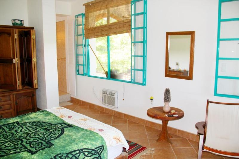 Mandala Room - 1 x double bed, private ensuite, 2nd floor, corner balcony room