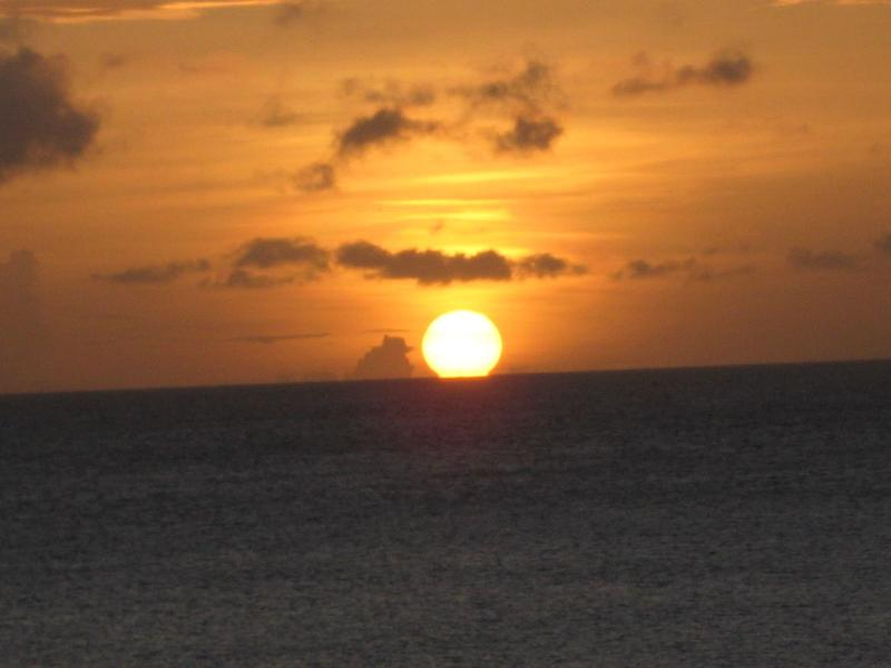 Sunset from the veranda - A picture says it all!