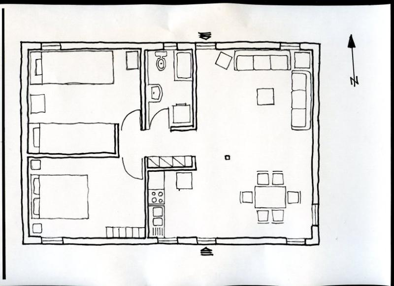 Scetch of the house