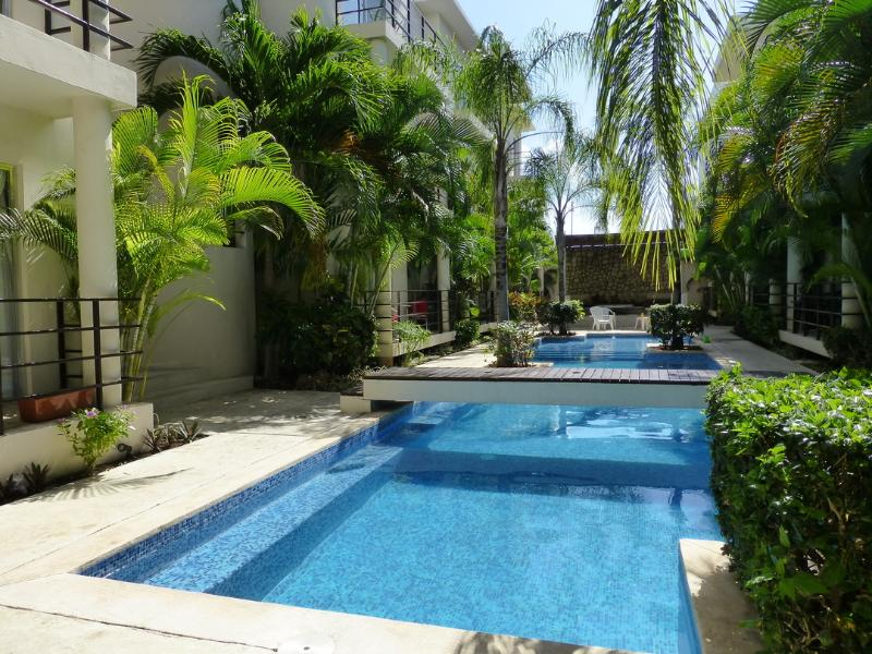Lovely, quiet, and peaceful pool and courtyard
