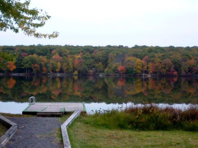 See the Fall Colors up close - From the Dock at the house.