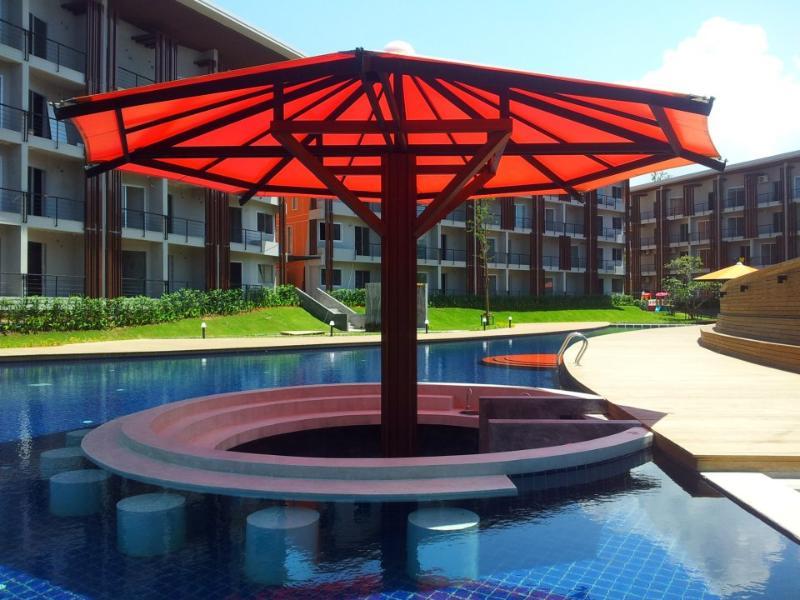 Bar piscine tropical