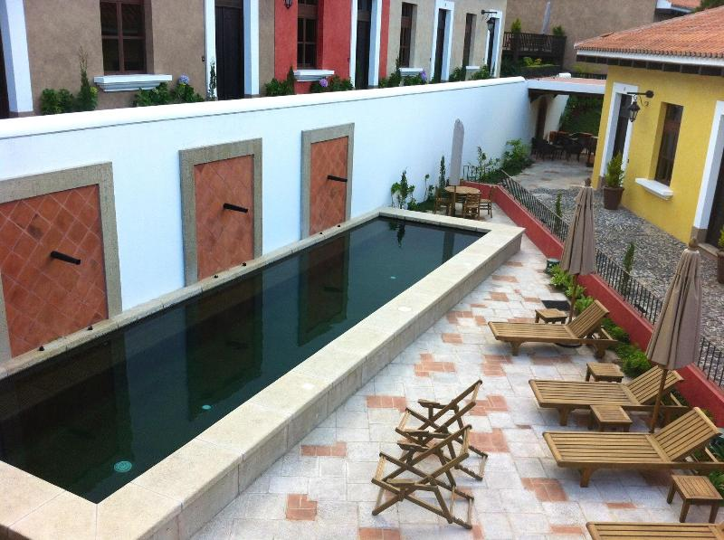 Heated and gated pool!