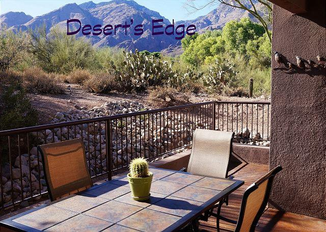 1st Floor  3 Bedroom 2 Bath with Extended Patio and Great Mountain Views, alquiler de vacaciones en Tucson