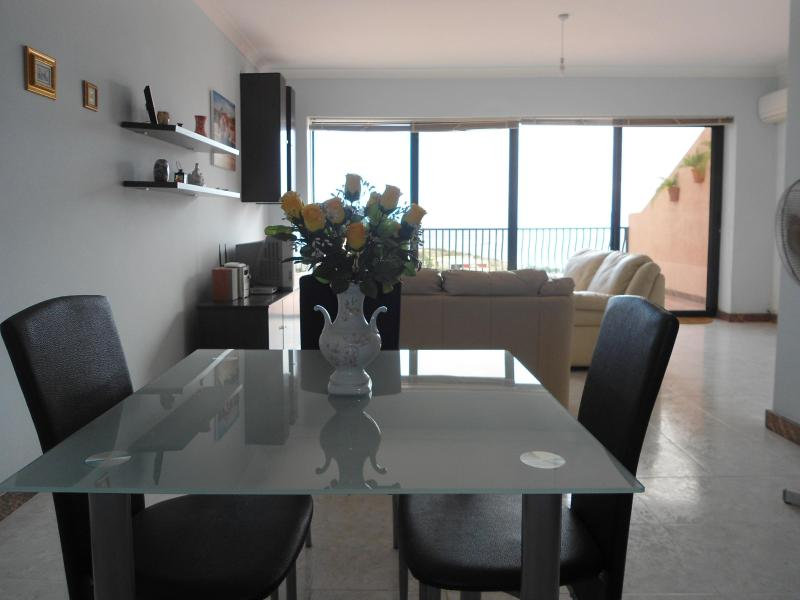 Dinning / Living area that leads you onto terrace with breathtaking sea ans country views.
