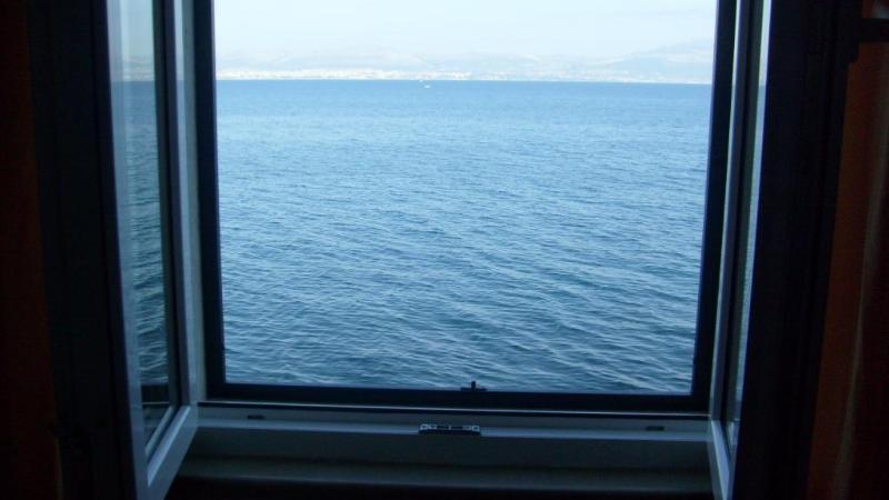 la vue depuis la fenêtre de votre salle de séjour