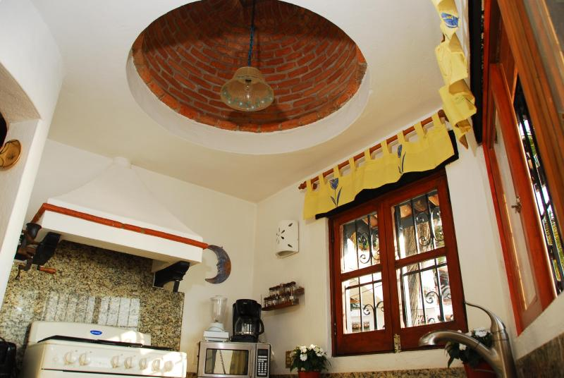 Charming Dome in Kitchen Ceiling that Overlooks the Ocean!