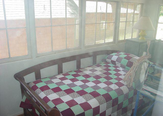 Daybed on Screen Porch