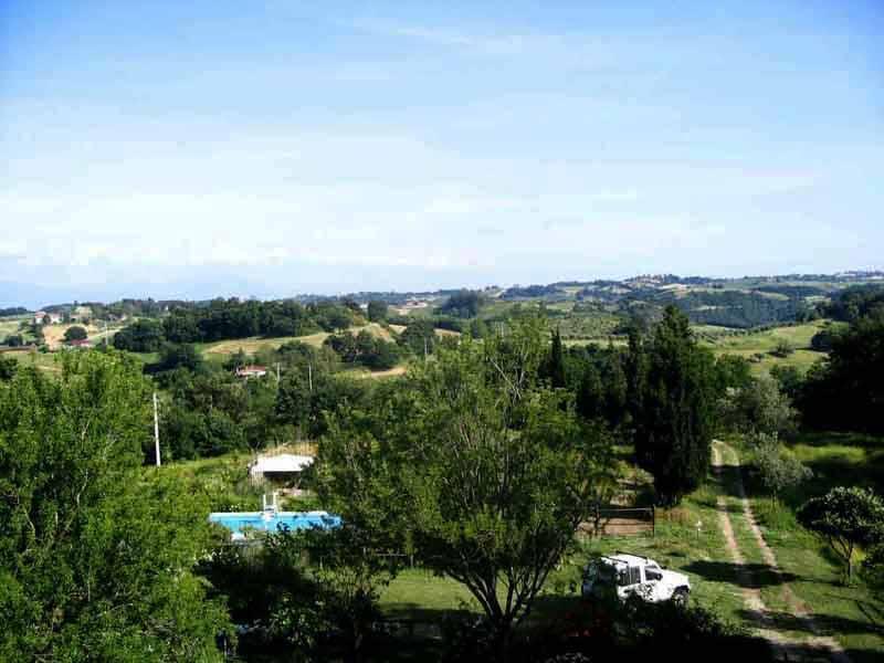 Villa with pool Sabine hills, complete  privacy !, holiday rental in Ponzano Romano