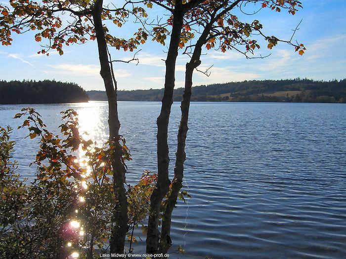 Lake Midway view