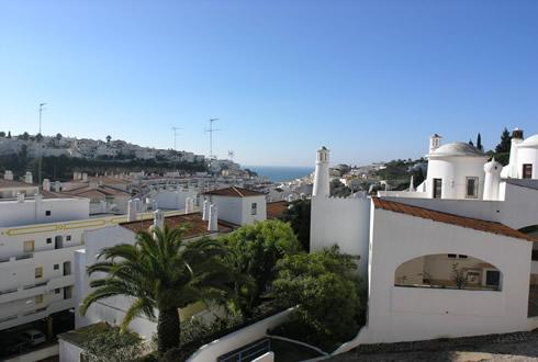 Spacious balconies offer stunning views over Carvoeiro and the ocean