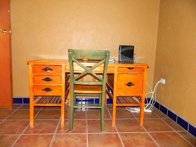 desk with WiFI