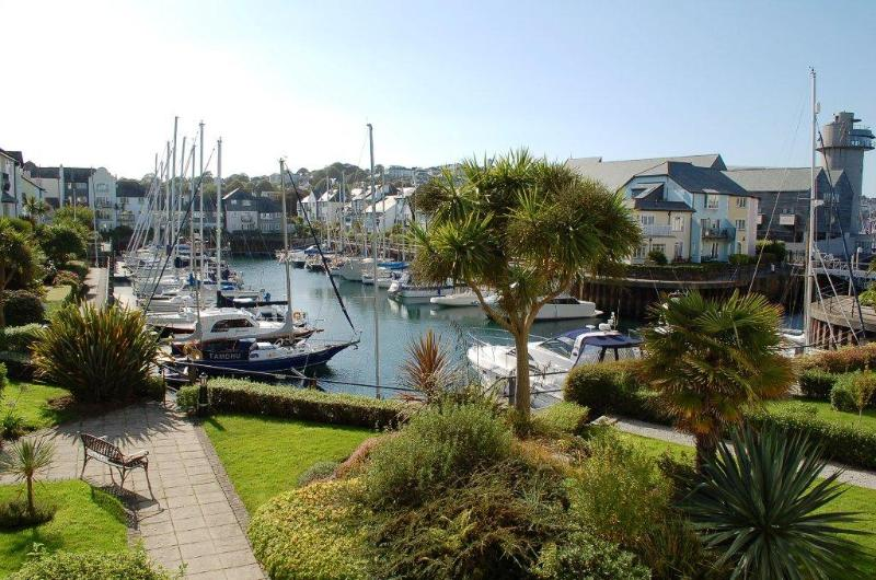 View over Port Pendennis Marina