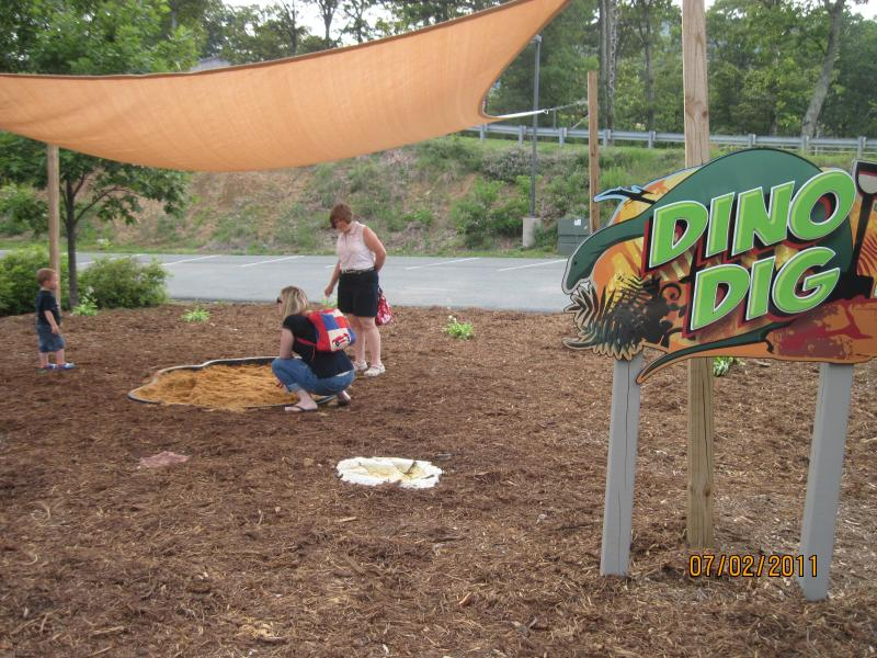 Discovery Ridge - Dino Dig for eggs