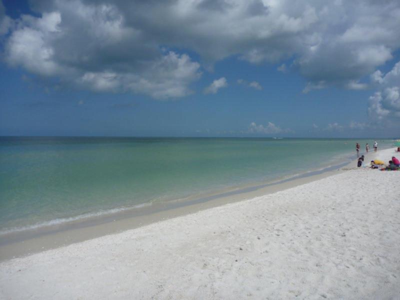 Acesso privado à praia praia Local de sereno,