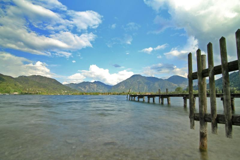 The Tegernsee - approximately 15 minutes by foot from the house