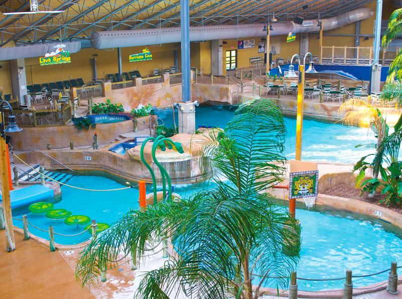 Split Rock Resort - parque aquático H2O - 15 min.