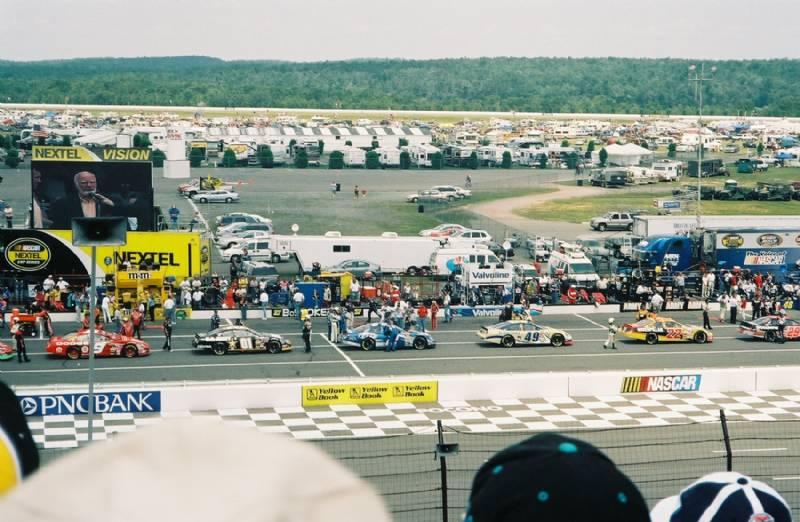 Pocono Raceway - 12 min.