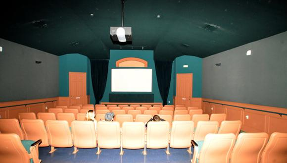 Movie theater at Clubhouse