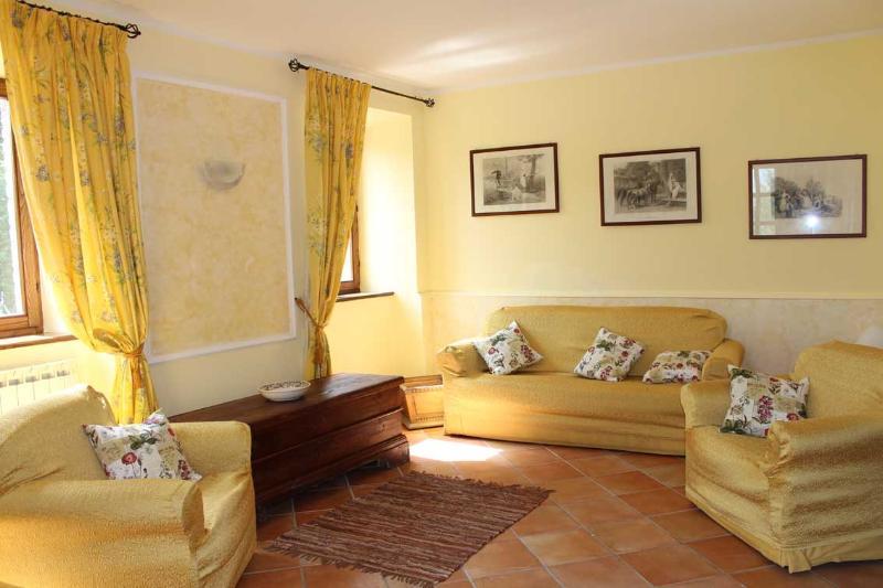 Villa Gelso sala con WiFi