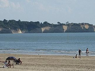 Het strand van St Georges-de-Didonne