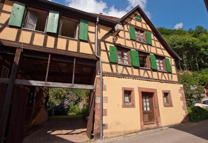 louer appartement Oberbronn Ferienhaus Elsass