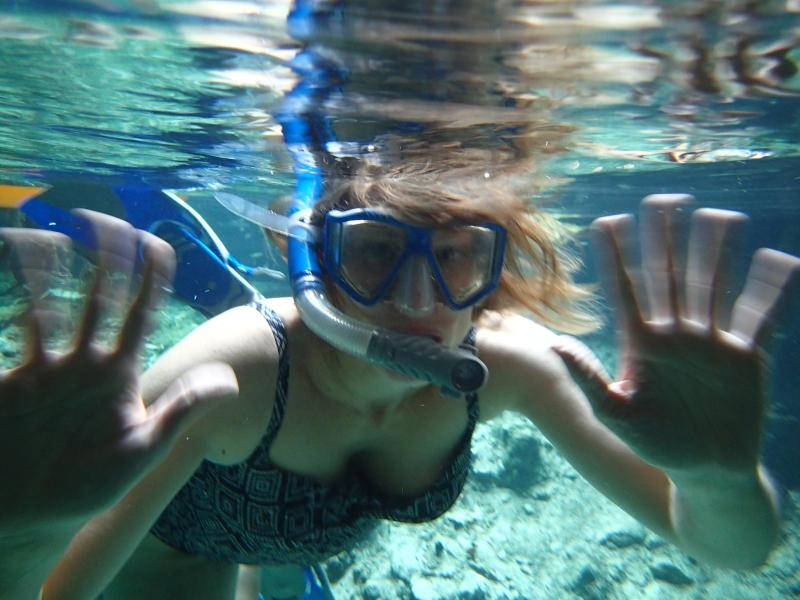 snorkeling en Gran Cenote en Tulum
