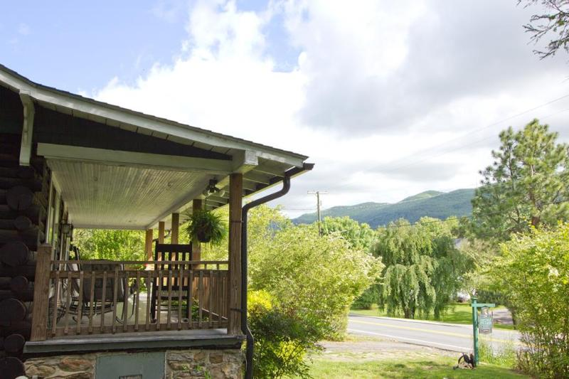 Mountain view from your rocking chair.