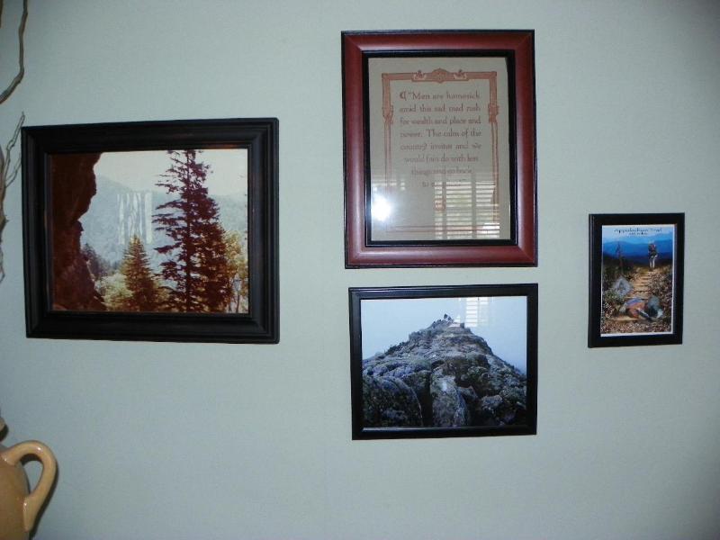 Decor reflects the serene mountain magic