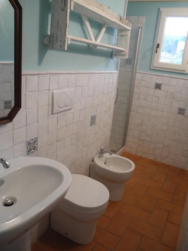Private attached bathroom