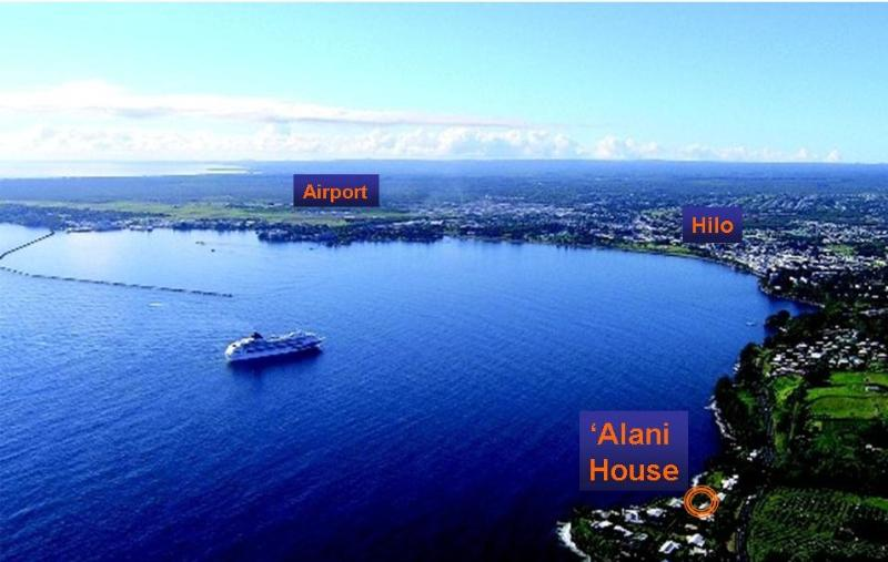 Situé sur la côte Hamakua juste trois kilomètres au nord du centre-ville de Hilo