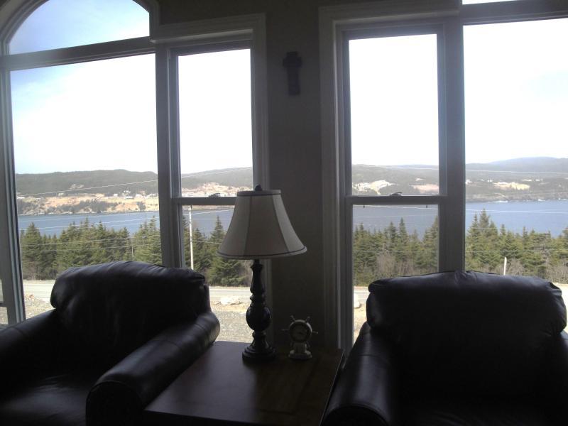 Vista de la bahía de Calvert