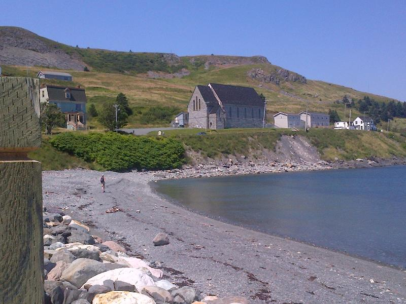 Old Stone Church in Ferryland