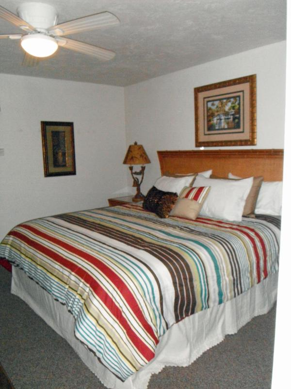 Master Suite has a King Size Bed