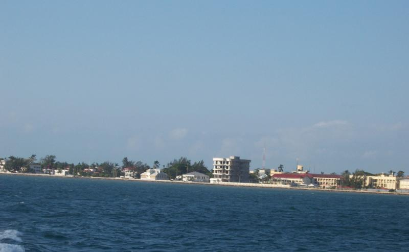 Sea side Belize City