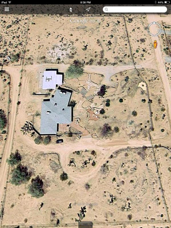 Aerial view - 4+ acres