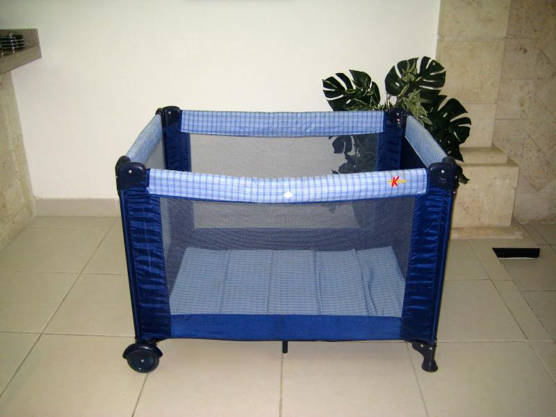 Baby crib available upon request