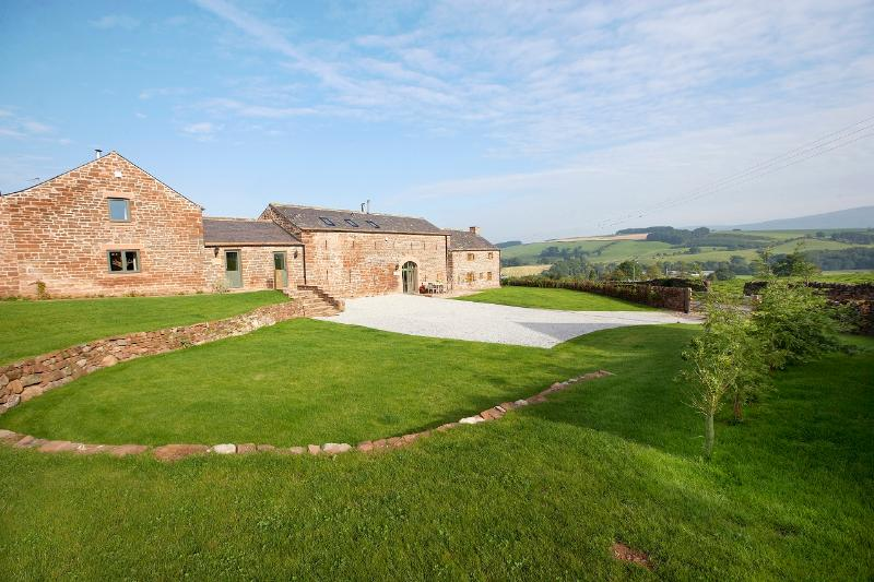 Glassonby Old Hall has amazing views over the Eden Valley and up into the Pennine Fells