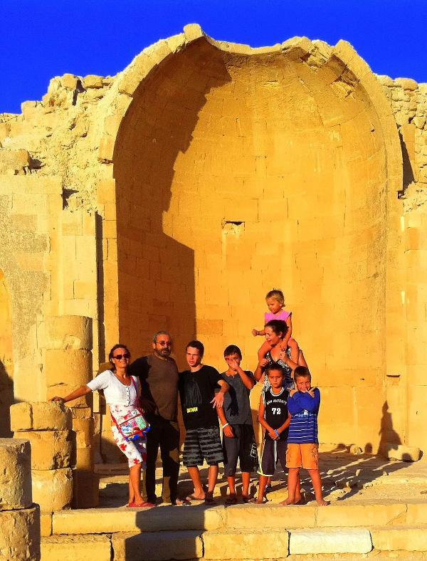 Shivta, Nabatean village 25 min. away