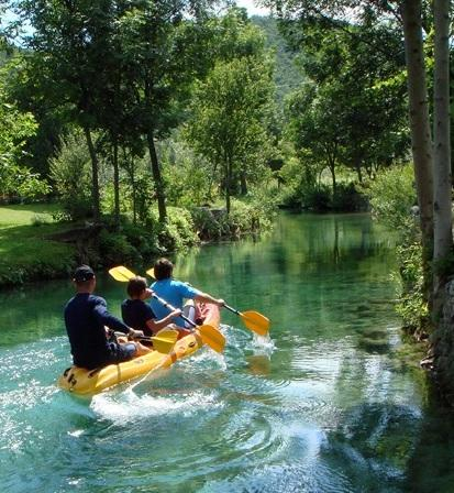 Kayaking - you can enjoy safari expedition in K2 kayaks exploring all beauties of this clear river