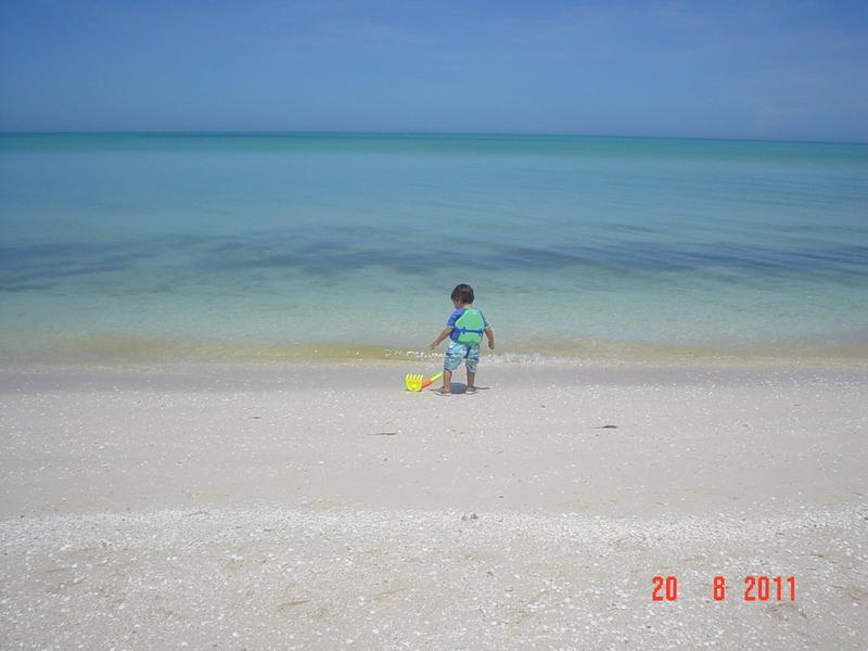 Playa (seguro para niños)