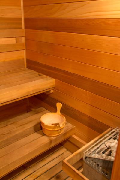 Rejuvenate your body with a soothing sauna after a full day's activities!