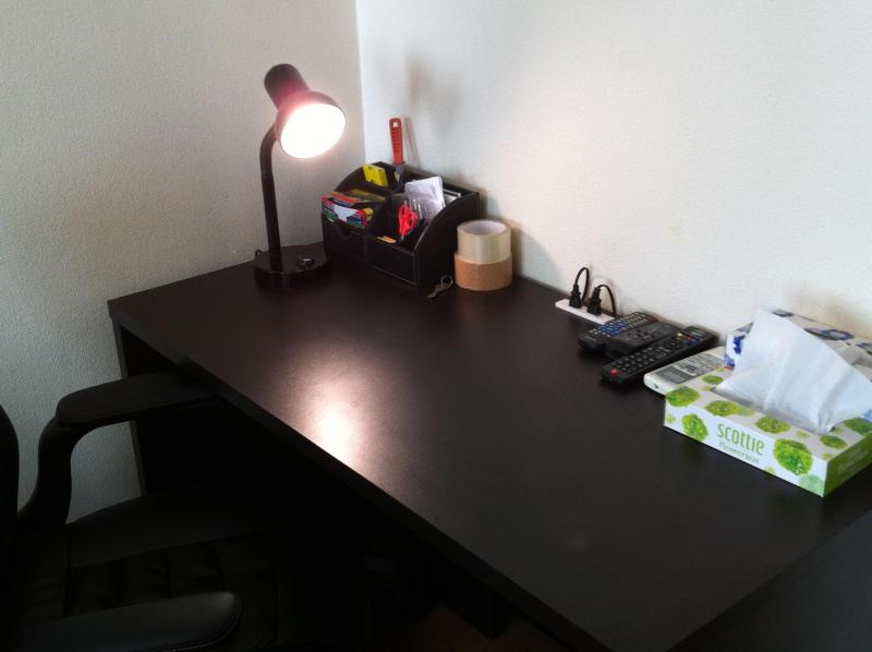 Closer look at the Office desk