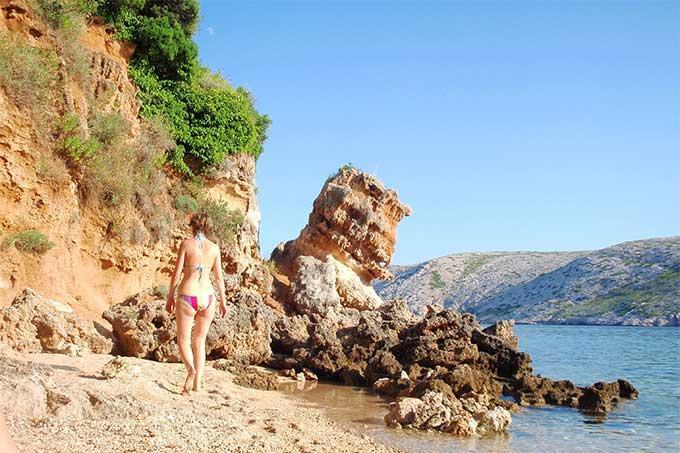 Pudarica beach