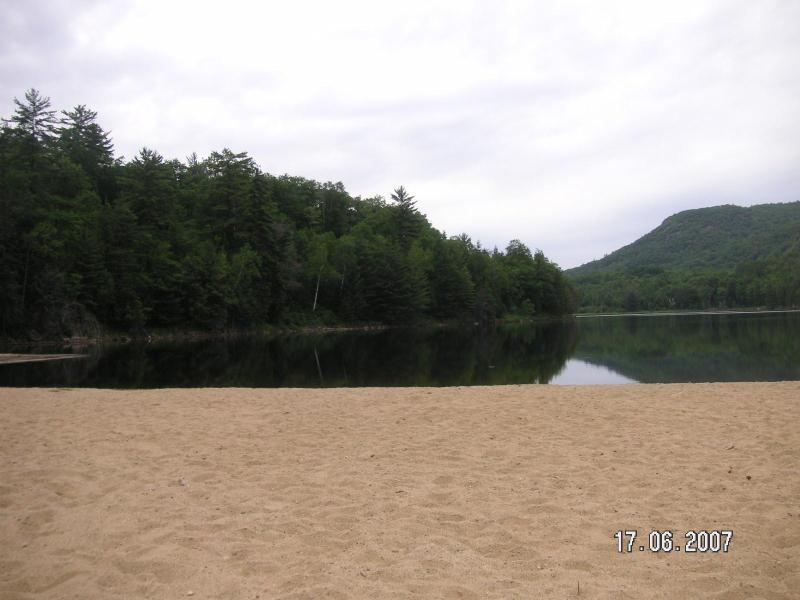 Safe sandy beach