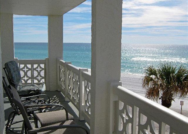 Actual balcony view