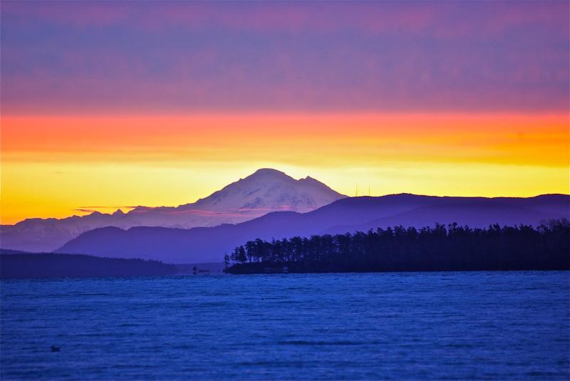 Mount Baker questo è uno dei vostri punti di vista!