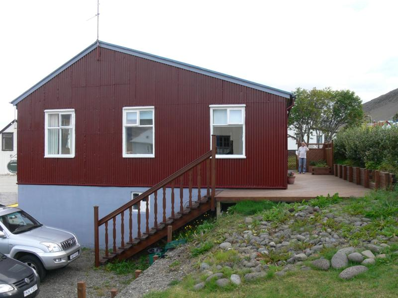 A charming house in the center of the Westfjords, vakantiewoning in Sudavik