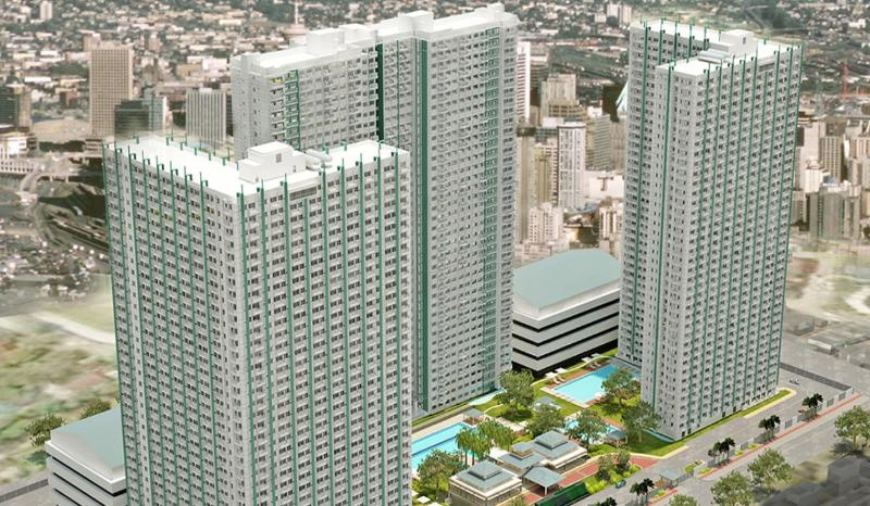 The Grass Residences Tower 3 is on your left (the L type)