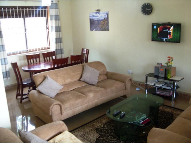 Living room and Dinning room